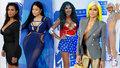 Prsa, zadky i příšery: Ceny MTV ovládla Beyoncé, Rihanně vyznal na jevišti lásku Drake