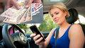 Kdo posílá SMS za volantem, ať tvrdě platí. Na Brity čeká pokuta 6300 korun