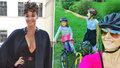 Iva Kubelková si užívá s dcerami: Společně vyrazily na kola!