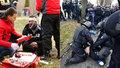Baníkovci řádili před stadionem Opavy: Zranění i zatýkání! Drama vrcholí po zápase
