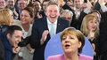 Strana Merkelové v Sársku jasně obstála, druzí byli sociální demokraté.