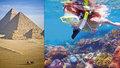 Egypt: Rudé moře táhne faraony ze dna! Potápěčský ráj je neskutečně levný