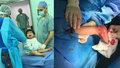 Malého Mohammada v Jordánsku operovali čeští lékaři z Prahy.
