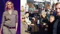 Šťastná Hana Reinders: Se svojí i manželovou rodinou u jednoho stolu