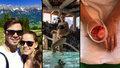 Zpěvačka Gudasová: Zásnuby s bráchovým spoluhráčem v hotelu, kam jezdí Kličko i Schwarzenegger