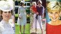 Kate v mnohém připomíná princeznu Dianu. A to i stylem oblékání.