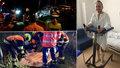 První fotky rozstřeleného BMW brněnské policie