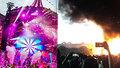 Ohnivé peklo na festivalu ve Španělsku: Scénu zachvátily plameny! Selfíčka, pak evakuace 22 tisíc lidí