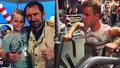 Emanuele Ridi přebral tanečníkovi lásku i práci, Onder zahání vztek v posilovně