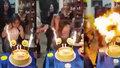 Oslava narozenin se změnila v ohnivé peklo: Dívka chytla od svíček, plameny ji pohltily
