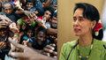 Su Ťij a barmští uprchlíci (ilustrační foto).