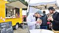 Smíchovská náplavka plná jídla na čtyřech kolech: Pražané se na Food Truck show nacpávali k prasknutí