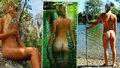 Mladá kráska (21) procestovala Austrálii úplně nahá: Není to divný, je to super, říká