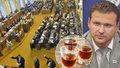 Alkohol má ve Sněmovně zelenou: Zákaz pití při schůzích je zrušený