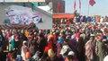 Hladový dav ušlapal nejméně 15 lidí. Tlačenici spustilo rozdávání balíčků s jídlem