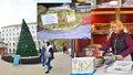 Cukroví, turecká chalva i klobása. Tak vypadají vánoční trhy na Tylově náměstí