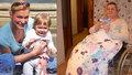 Po porodu přišly halucinace a těžké deprese: Laďka (40) skočila z balkónu a skončila na vozíku