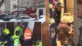 VIDEO: Záchrana vážně nemocné stařenky! Soused uslyšel zoufalé volání, hasiči do zamčeného bytu museli oknem