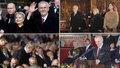Zemanova inaugurace: Útok na Bakalu a média vyhnal ze sálu TOP 09 i Němcovou