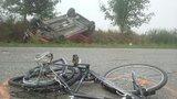 Kamion přehlédl cyklistu a srazil ho: Muž nepřežil!