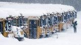 Děti měly sněhové prázdniny. Východ USA zasáhla mohutná bouře