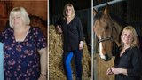 'Zhubla 45 kilo za 16 měsíců! Trápilo ji, že už nemůže jezdit na koni'