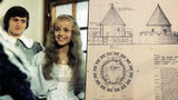 Pohádkové tajemství: Pro Růženku z Jak se budí princezny stavěli věž! Ve filmu ale není vidět