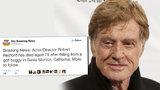 Robert Redford zemřel po nehodě na golfu: Fáma naštvala i samotného herce