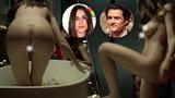 Nahá je krásná: Milenka Orlanda Blooma se svlékla ve filmu