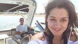 Petra Faltýnová se svým miliardářem na jachtě: Kopla si do exmilence?!