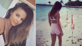 Sexy Monika Bagárová: Odhalila zadeček v ultrakrátkých šortkách