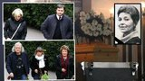 Emotivní pohřeb herecké legendy Věry Kubánkové: Přišla Bohdalová i Hrušínský, nad rakví mluvil syn