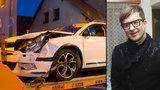 Petr Kotvald měl autonehodu! Ve vesnici kousek za Prahou se střetl s jiným vozem