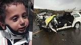 Chlapec (4) přežil vlastní smrt! Hlava se mu utrhla od páteře, visela jen na kůži