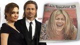 Rozvod Jolie a Pitta: Jennifer Aniston se směje na celé kolo a Angelině posílá vzkaz!