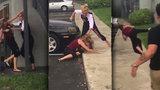 Američanky se servaly na ulici: Útočnice, která si začala, stěží odešla po svých