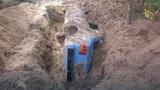 Řidič zakopal vlastní auto, aby zakryl stopy po smrtelné nehodě. Zabil při ní cyklistu
