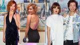 Hvězdy v gala: Sexy Vagnerová, šmrncovní Jirešová a Cina s Bokovou jako z osmdesátek!