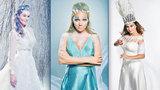 Zimní královny Morávková, Vondráčková i Kubelková přivolávaly Vánoce! Co popřály čtenářům?