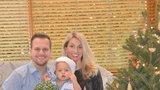 Syn ojedl ozdoby ze stromečku, přiznal zpěvák Martin Chodúr (27) o ročním Martínkovi