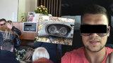 S Jirkou, který se zabil v BMW, se loučili kamarádi v luxusních autech: Chtěl se jim vyrovnat, musel mít dvě práce