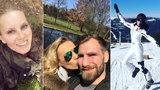 První jarní víkend českých celebrit: Krainová, Verešová a spol. čerpali energii v přírodě