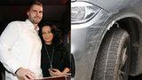 Lucie Bílá a její »testosteronový anděl« Radek: Nabořili jim BMW!