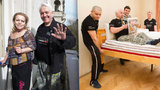 Exkluzivní foto: Krampola vystěhovali svalovci z luxusního bytu v Pařížské!