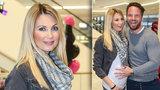 Těhotná Parmová v šestém měsíci: Vystrčila bříško, které už jen tak neschová!