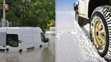 Počasí v Česku blázní: Sněží a zároveň hrozí povodně