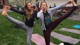 'Pivní jóga: Konečně to správné cvičení, které vás bude bavit! '
