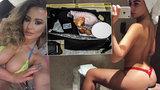 Modelka, kterou měl unést a prodat na sex internetový gang: Zosnovala svůj únos sama?