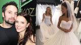 Svatba muzikálové hvězdy Korolové: Bez bílých šatů i podpatků