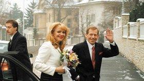 20 let od tajné svatby Veškrnové s prezidentem Havlem: Lidé ji kvůli tomu zavrhli!